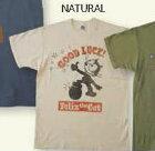 BUCO ブコ TOYS McCOY[トイズマッコイ] Felix the Cat GOOD LUCK![グッド ラック] Tシャツ