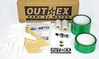 OUTEX アウテックス クリアチューブレスキット CRF250L TE450 スーパーシェルパ DR-Z400S WR250R