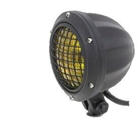 ガレージT&F 4インチビレットヘッドライト&ステーセット タイプA シャドウスラッシャー400