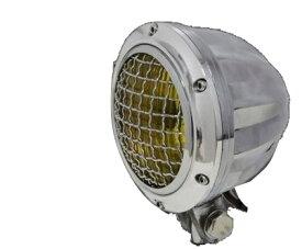 ガレージT&F 4インチビレットヘッドライト&ステーセット タイプE 250TR