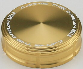 【在庫あり】AELLA アエラ マスターシリンダー タンクキャップ(ブレンボS15タイプ用) カラー:シャンパンゴールド
