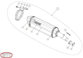 AKRAPOVIC アクラポビッチ 【リペアパーツ】P-RPCK89 muffler repack kit GSX-S750 SV650 SV650X SUZUKI スズキ SUZUKI スズキ SUZUKI スズキ