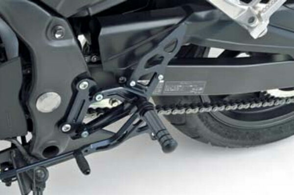 MORIWAKI ENGINEERING モリワキエンジニアリング バックステップキット カラー:ブラック CBR400R 16- ABS 車対応