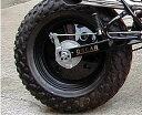 OSCAR オスカー ホイール関連パーツ TW200用 リアホイールキャップ 黒ゲル TW200