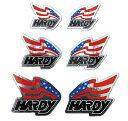 【在庫あり】【イベント開催中!】 HARDY ハーディー ステッカー・デカール フラッグステッカーセット