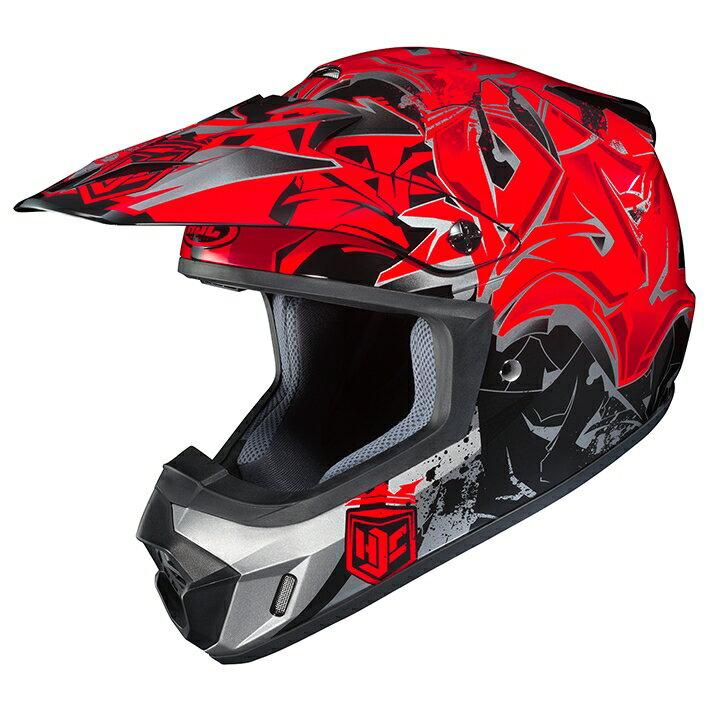 HJC エイチジェイシー オフロードヘルメット HJH097 CS-MXII GRAFFED (グラフド) サイズ:XL(61-62cm)