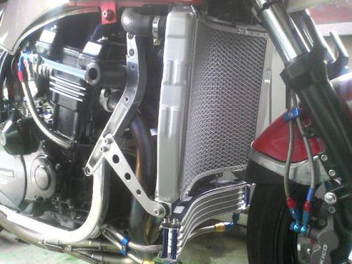 SPEC ENG. スペックエンジニアリング ラジエーター本体 ビックラジエターキット GPZ900R NINJA [ニンジャ]/GPZ750R NINJA [ニンジャ]