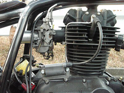 部品屋K&W イグニッションコイル・ポイント・イグナイター関連 コイル移設キット 250TR