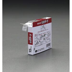 ESCO エスコ 20mmx8m両面テープ(カッター付)