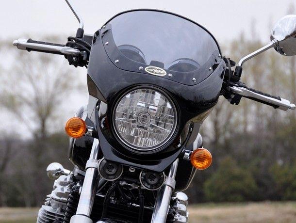 CHIC DESIGN シックデザイン ビキニカウル・バイザー ロードコメット2 カラー:スモーク カラー:パールスペンサーブルー CB1100 CB1100 EX