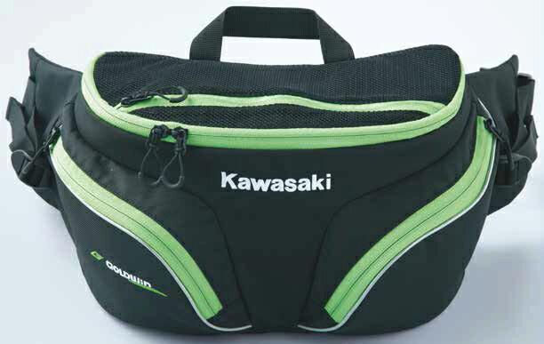 KAWASAKI カワサキ ウエストポーチ・ヒップバッグ ツーリングウエストバッグ
