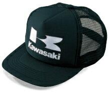 【在庫あり】KAWASAKI 帽子 カワサキフライングメッシュキャップ