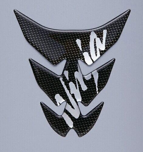 【在庫あり】KAWASAKI カワサキタンクパッド (カーボン調) Ninja