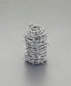 ESCO エスコ #16=1.6mmx100m有刺鉄線(ステンレス製)