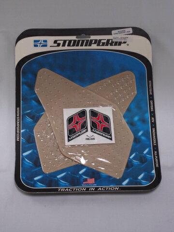 ストンプグリップ STOMPGRIP タンクパッド トラクションパッド ストリートバイクキット カラー:クリア GOLDWING 12-15