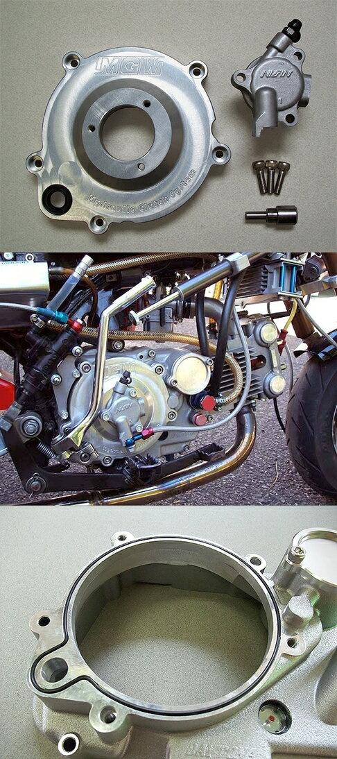 METAL GEAR WORKS デイトナ2次側湿式クラッチキット対応 油圧クラッチキット デイトナ対応品番(マイナーチェンジ前用):32186、41999、64456、64698(クラッチリフタープレートのベアリング内径12mm) モンキー