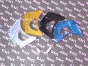 K&T ケイアンドティー ガード・スライダー スプロケットカバー カラー:ブルー D-TRACKER [Dトラッカー]