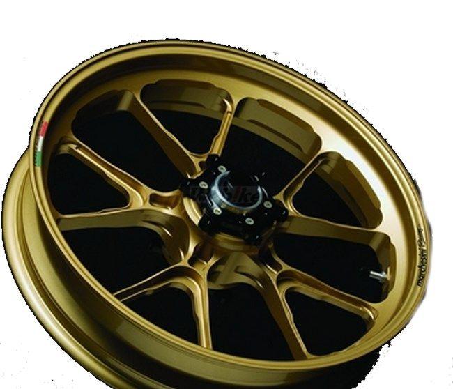MARCHESINI マルケジーニ ホイール本体 アルミニウム鍛造ホイール M10S Kompe Evo [コンペエボ] カラー:RACING BLACK-1(艶ありブラック) YZF-R1 04-08 YZF-R1 09-14