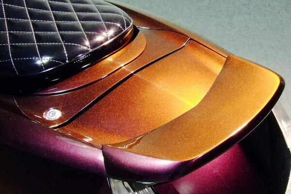 WARRIORZ ウォーリアーズ スクーター外装 マグザム用 穴埋めパネル カラー:ブラックメタリックX MAXAM [マグザム] (SG17J/SG21J)