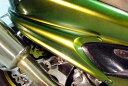 WARRIORZ ウォーリアーズ スクーター外装 マジェスティ用 サイドフラップ カラー:ブラック2 MAJESTY250[マジェスティ](SG03J) (5G...