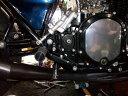 スピードショップイトウ SPEED SHOP ITO フットペグ・ステップ・フロアボード Z用ステップキット(ゴムステップ仕様) カラー:ブラックアルマイト Z...
