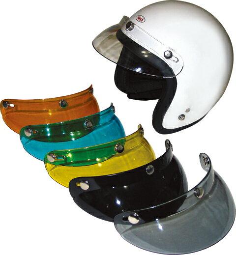 RIDEZ ライズ 内装・オプションパーツ PEEK A BOOバイザー カラー:クリア ジェットヘルメット