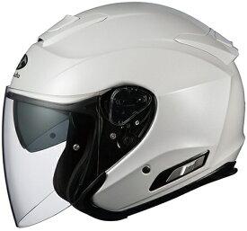 【在庫あり】OGK KABUTO オージーケーカブト ジェットヘルメット ASAGI [アサギ パールホワイト] ヘルメット サイズ:M