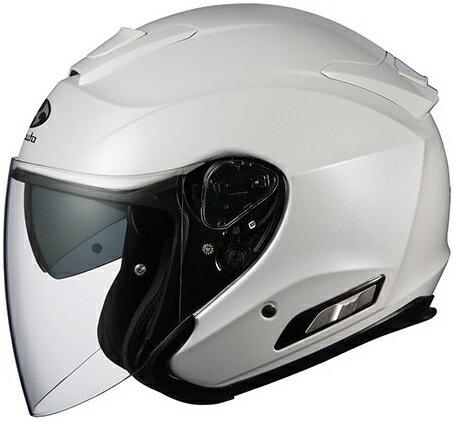 【在庫あり】OGK KABUTO オージーケーカブト ジェットヘルメット ASAGI [アサギ パールホワイト] ヘルメット サイズ:XL