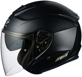 【在庫あり】OGK KABUTO オージーケーカブト ジェットヘルメット ASAGI [アサギ フラットブラック] ヘルメット サイズ:M