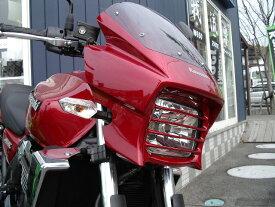 PLEASURE プレジャー ヘッドライトステー・ブラケット ヘッドライトルーバー カラー:メタリックスパークブラック ZRX1200DAEG [ダエグ]
