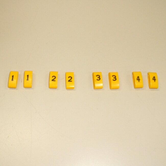 ASウオタニ AS UOTANI プラグコード コードマーカーセット(1-4)