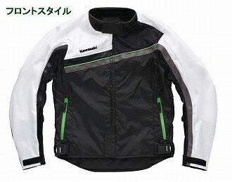 KAWASAKI メッシュジャケット カワサキライトツーリングメッシュブルゾンW サイズ:LL
