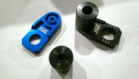 SLIDE スライド ガード・スライダー フロント&リアアクスル ブロック スライダーセット カラー:レッド SMRR 125 SMRR 630 TC SMR 125 TC SMR 630 TE125 TE630 TXC125 TXC630