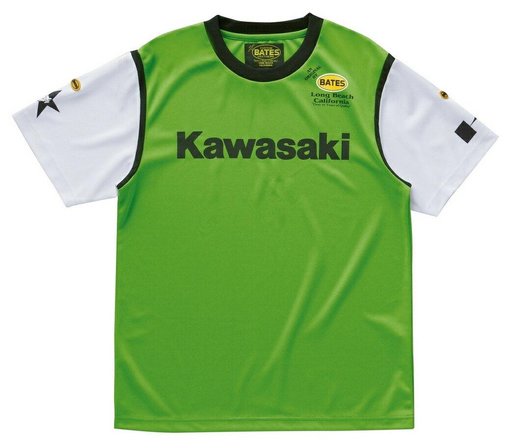 【イベント開催中!】 KAWASAKI カワサキ×ベイツ COOL-TEX [クールテックス] Tシャツ フライングKバージョン