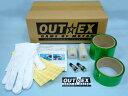 【在庫あり】OUTEX アウテックス ホイール関連パーツ クリアチューブレスキット WR250X
