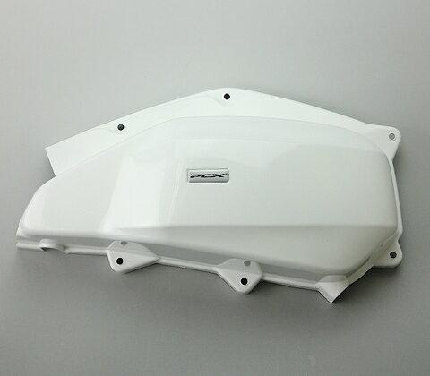 ENDURANCE エンデュランス サイドカバー エアークリーナーカバー カラー:ホワイト PCX125