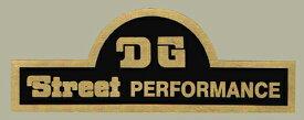 ホーリーエクイップ HollyEquip ステッカー・デカール DG Street Performance スィングアームデカール(EA) カラー:ブラック/ゴールド