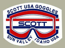 ホーリーエクイップ HollyEquip ステッカー・デカール Scott Goggle Sun Valley デカール