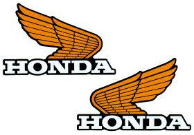 【在庫あり】HONDA ホンダ ステッカー・デカール オールドウイングステッカー14