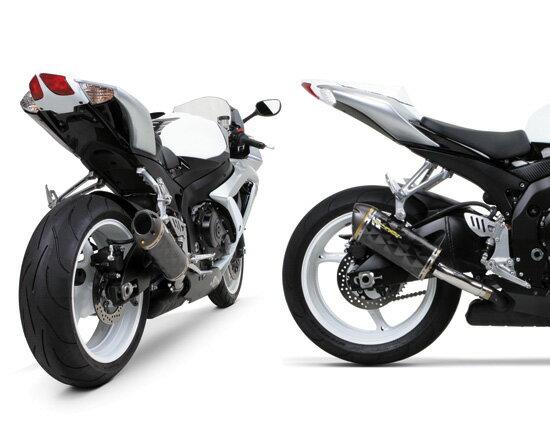 Two Brothers Racing ツーブラザーズレーシング V.A.L.E. スリップオンマフラー M2カーボンサイレンサー ブラックシリーズ GSX-R600/750 (08-10)