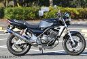 MotoGear モトギア プリズムフルエキゾーストマフラー サイレンサータイプ:カーボンスラッシュエンド BALIUS [バリオス] -II