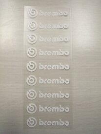 【在庫あり】Brembo ブレンボ ステッカー