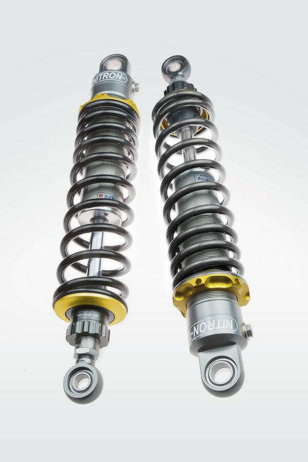 NITRON ナイトロン リアサスペンションツインショック TWIN R1シリーズ スプリングカラー:ブラック ベースカラー:ゴールドツイン SPORTSTERファミリー