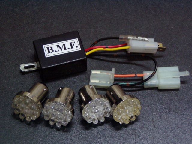 ビームーンファクトリー B-MOON FACTORY BMF その他電装パーツ LEDウインカーバルブ/デジタルリレーセット PCX125 PCX150