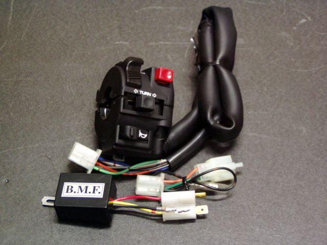 ビームーンファクトリー B-MOON FACTORY BMF その他電装パーツ デジタルハザード/ハンドルホルダーセット PCX125 PCX150