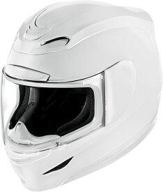 ICON アイコン フルフェイスヘルメット AIRMADA GLOSS HELMET [エアマーダ・グロス・ヘルメット]【WHITE】 サイズ:XL(61-62cm)
