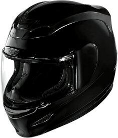 ICON アイコン フルフェイスヘルメット AIRMADA GLOSS HELMET [エアマーダ・グロス・ヘルメット]【BLACK】 サイズ:XL(61-62cm)