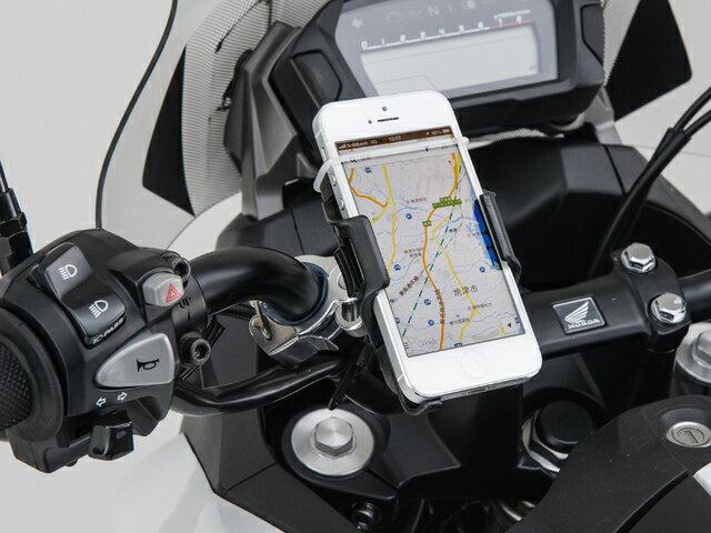 【在庫あり】DAYTONA デイトナ 各種電子機器マウント・オプション バイク用スマートフォンホルダー MAJESTY S(マジェスティ)[XC155] 2016