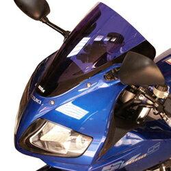 SECDEM セクデム ダブルバブル・スクリーン カラー:グレースモーク SV650 S 03-10