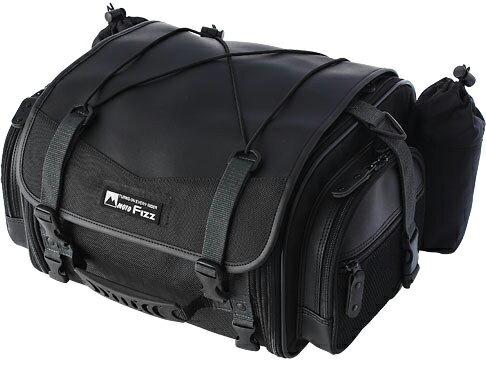 【イベント開催中!】 タナックス モトフィズ TANAX motofizz ミニフィールドシートバッグ カラー:ブラック (MFK-100)/素材:1680Dナイロン+PVCレザー